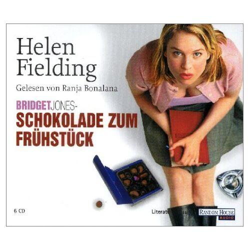Helen Fielding - Schokolade zum Frühstück. 6 CDs. - Preis vom 06.09.2020 04:54:28 h