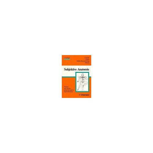 Uexküll, Thure von - Subjektive Anatomie - Preis vom 21.04.2021 04:48:01 h