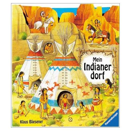 Norbert Landa - Mein Indianerdorf: Leporello mit Gucklöchern - Preis vom 05.09.2020 04:49:05 h