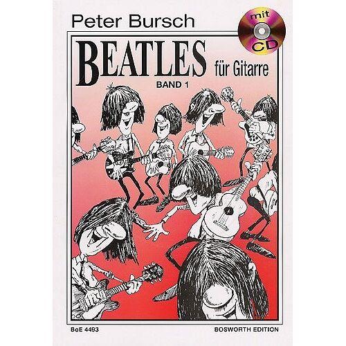 Peter Bursch - Peter Bursch Beatles für Gitarre, Bd.1, mit CD - Preis vom 24.02.2021 06:00:20 h