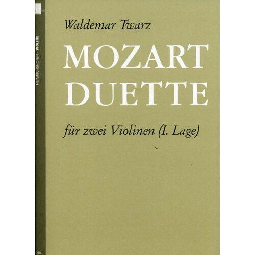 - Mozart Duette. Violine - Preis vom 14.05.2021 04:51:20 h