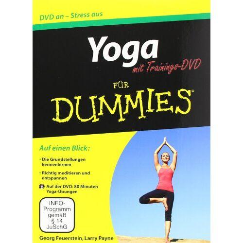 Georg Feuerstein - Yoga für Dummies mit Video-DVD (Fur Dummies) - Preis vom 24.08.2019 05:54:11 h