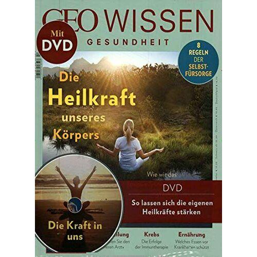 GEO Wissen Gesundheit mit DVD - GEO Wissen Gesundheit mit DVD 10/2019 Die Heilkraft - Preis vom 16.04.2021 04:54:32 h