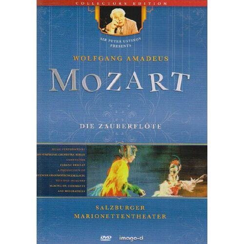 Peter Ustinov - Die Zauberflöte - Salzburger Marionettentheater, 1 DVD - Preis vom 11.05.2021 04:49:30 h