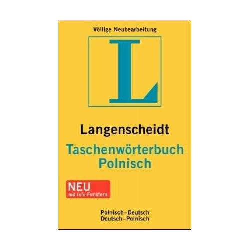 Stanislaw Walewski - Langenscheidts Taschenwörterbuch Polnisch: Polnisch-Deutsch / Deutsch-Polnisch - Preis vom 03.12.2020 05:57:36 h
