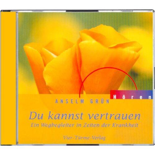 Anselm Grün - Du kannst vertrauen. Ein Wegbegleiter in Zeiten der Krankheit. CD: Ein Wegbegleiter in Zeiten der Krankheit - Preis vom 14.05.2021 04:51:20 h
