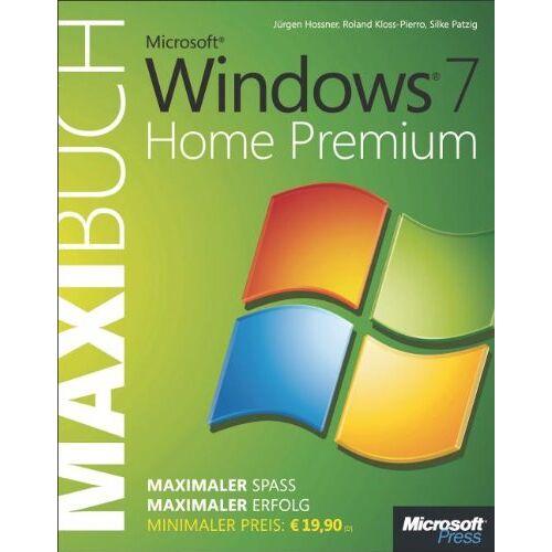 Hossner Microsoft Windows 7 Home Premium - Das Maxibuch - Preis vom 05.09.2020 04:49:05 h