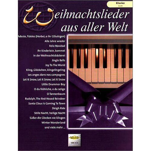 - Weihnachtslieder aus Aller Welt. Klavier leicht - Preis vom 24.02.2021 06:00:20 h