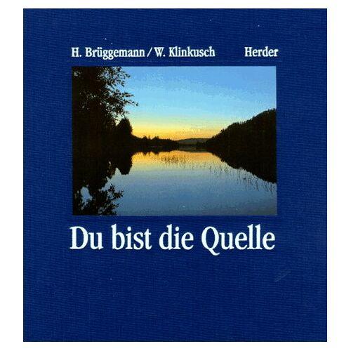 Brüggemann, Hermann J. - Du bist die Quelle - Preis vom 11.05.2021 04:49:30 h