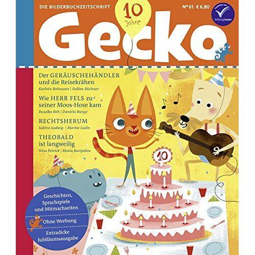 Kathrin Rohmann - Gecko Kinderzeitschrift Band 61: Die Bilderbuch-Zeitschrift - Preis vom 02.10.2019 05:08:32 h