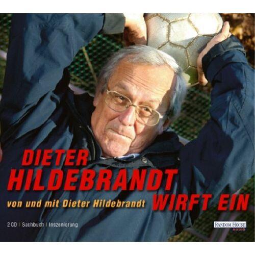 Dieter Hildebrandt - Dieter Hildebrandt wirft ein. 2 CDs - Preis vom 21.04.2021 04:48:01 h