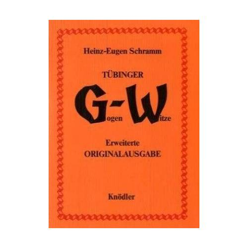 Heinz-Eugen Schramm - Tübinger Gogenwitze - Preis vom 18.04.2021 04:52:10 h
