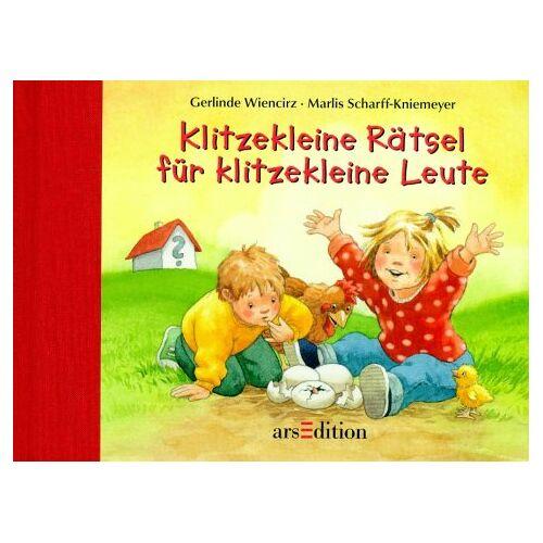 Gerlinde Wiencirz - Klitzekleine Rätsel für klitzekleine Leute - Preis vom 06.09.2020 04:54:28 h