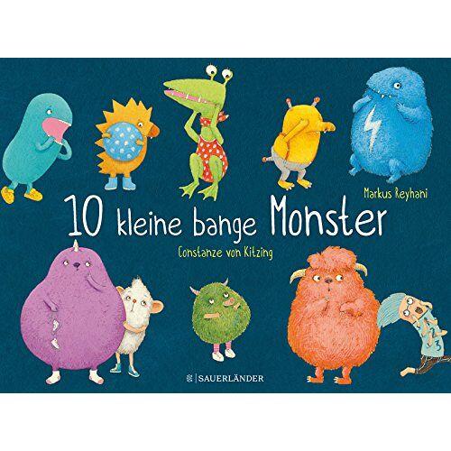 Markus Reyhani - 10 kleine bange Monster - Preis vom 20.01.2020 06:03:46 h