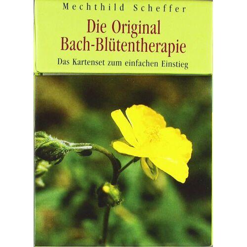 Mechthild Scheffer - Die Original Bach-Blütentherapie: Das Kartenset zum einfachen Einstieg. Mit 50 Karten - Preis vom 28.02.2021 06:03:40 h