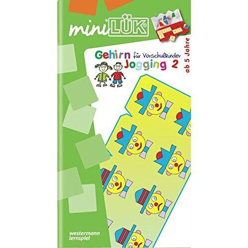 Heinz Vogel - miniLÜK / Kindergarten / Vorschule: miniLÜK: Gehirnjogging für Vorschulkinder 2 - Preis vom 10.05.2021 04:48:42 h