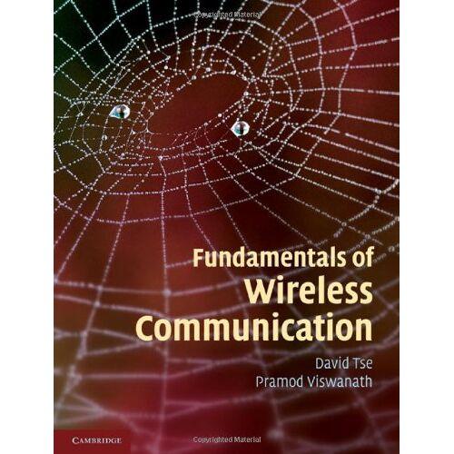 David Tse - Fundamentals of Wireless Communication - Preis vom 18.02.2020 05:58:08 h