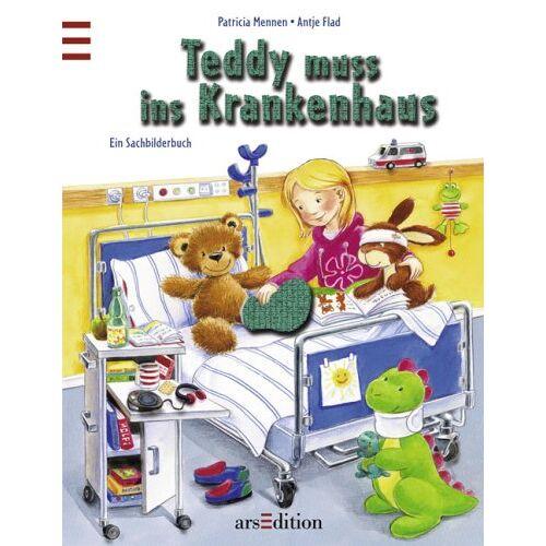 Patricia Mennen - Teddy muss ins Krankenhaus - Preis vom 06.09.2020 04:54:28 h
