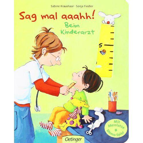 Sabine Kraushaar - Sag mal aaahh!: Beim Kinderarzt - Preis vom 28.02.2021 06:03:40 h