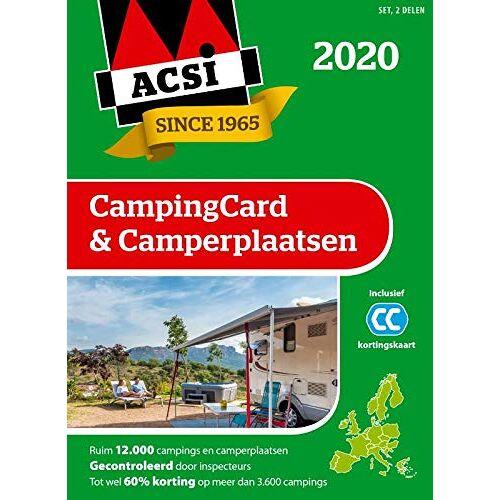 ACSI - ACSI campingcard & camperplaatsen 2020: set 2 delen (ACSI Campinggids) - Preis vom 05.01.2021 05:56:35 h