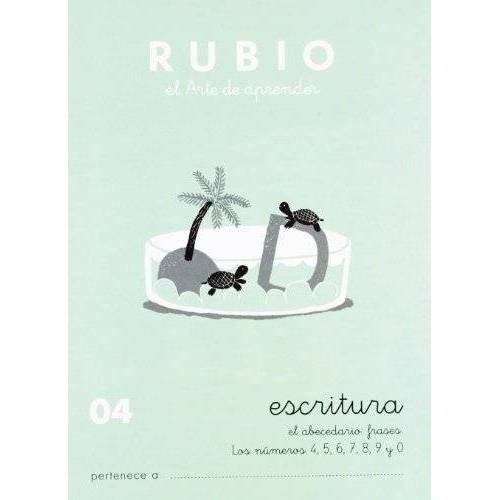 - Rubio 04 - Caligrafía Escolar Rubio - Preis vom 06.05.2021 04:54:26 h