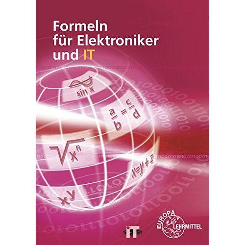 Horst Bumiller - Formeln für Elektroniker und IT - Preis vom 14.05.2021 04:51:20 h