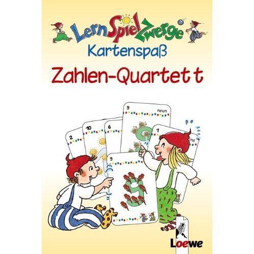 - LernSpielZwerge Kartenspaß: Zahlen-Quartett (48 Spielkarten) - Preis vom 06.05.2021 04:54:26 h