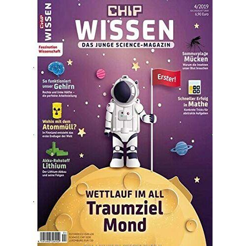 Chip Wissen - Chip Wissen 4/2019 Traumziel Mond - Preis vom 08.04.2021 04:50:19 h