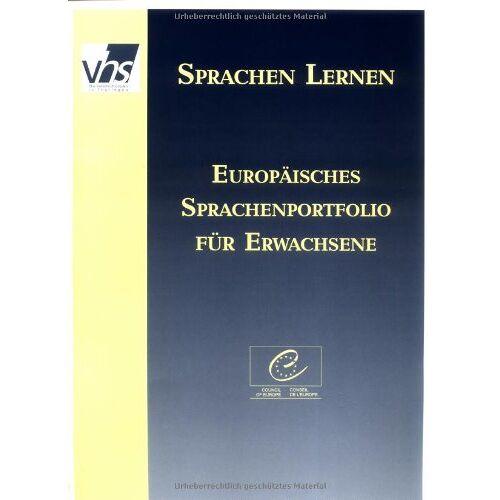 Volkshochschulverband Volkshochschulverband Thüringen - Europäisches Sprachenportfolio für Erwachsene: Lernerpaket - Preis vom 20.10.2020 04:55:35 h
