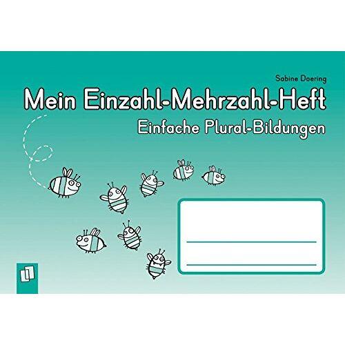 Sabine Doering - Mein Einzahl-Mehrzahl-Heft: Einfache Plural-Bildungen - Preis vom 20.10.2020 04:55:35 h