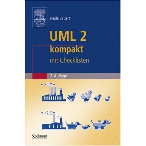 Heide Balzert - UML 2 kompakt - Preis vom 05.09.2020 04:49:05 h