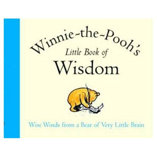 Milne, A. A. - Winnie-The-Pooh's Little Book of Wisdom (The wisdom of Pooh) - Preis vom 19.10.2020 04:51:53 h