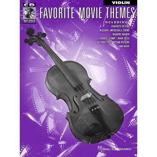 - Favourite Movie Themes for Violin (Violin Book & CD): Noten, CD für Violine - Preis vom 15.05.2021 04:43:31 h