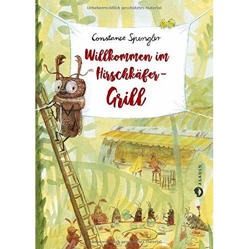 Constanze Spengler - Willkommen im Hirschkäfer-Grill - Preis vom 27.02.2021 06:04:24 h