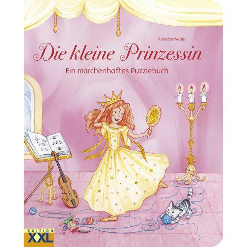 Weber Die kleine Prinzessin: Ein märchenhaftes Puzzlebuch - Preis vom 12.05.2021 04:50:50 h