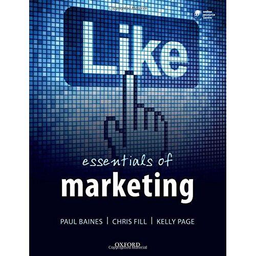 Paul Baines - Essentials of Marketing - Preis vom 17.04.2021 04:51:59 h