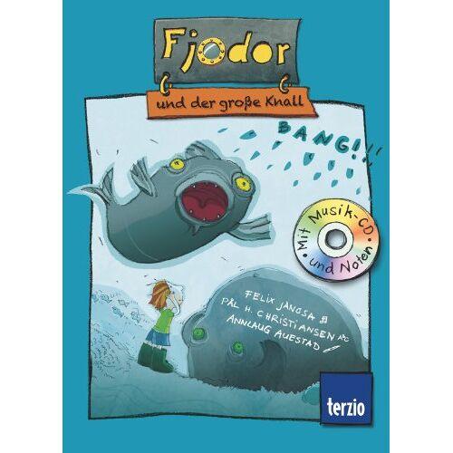 Felix Janosa - Fjodor, Band 3: Fjodor und der große Knall: Buch mit CD - Preis vom 05.03.2021 05:56:49 h