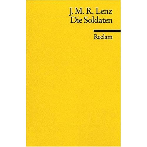 Lenz, Jakob M - Die Soldaten - Preis vom 14.04.2021 04:53:30 h