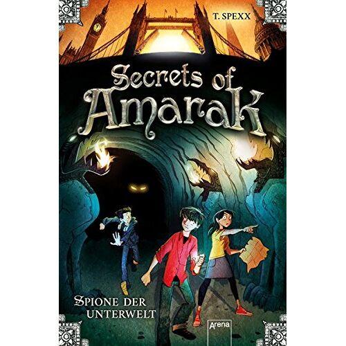 T. Spexx - Secrets of Amarak: Spione der Unterwelt: - Preis vom 22.01.2021 05:57:24 h