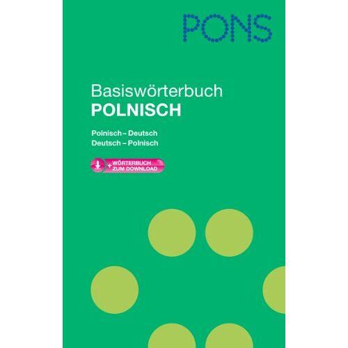 - PONS Basiswörterbuch Polnisch: Polnisch-Deutsch/Deutsch- Polnisch. Mit Download-Wörterbuch - Preis vom 07.03.2021 06:00:26 h