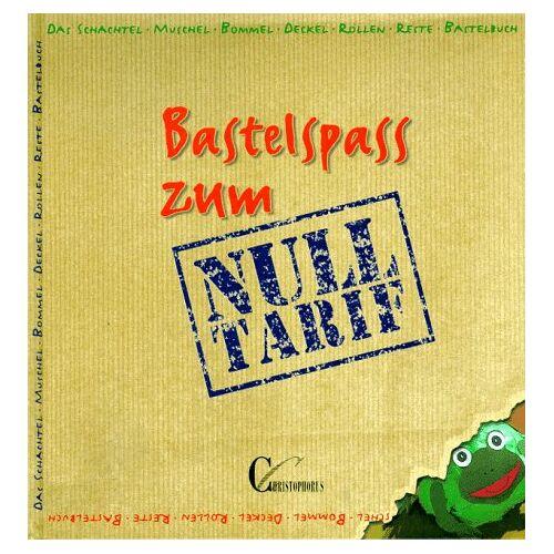 Marlies Blank - Bastelspaß zum Nulltarif. Das Schachtel- Muschel- Bommel- Deckel- Rollen- Reste- Bastelbuch. Mit Vorlagen - Preis vom 12.04.2021 04:50:28 h