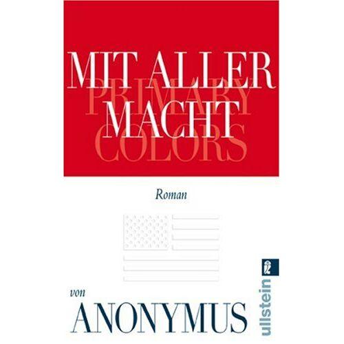 Anonymus - Mit aller Macht - Preis vom 05.09.2020 04:49:05 h