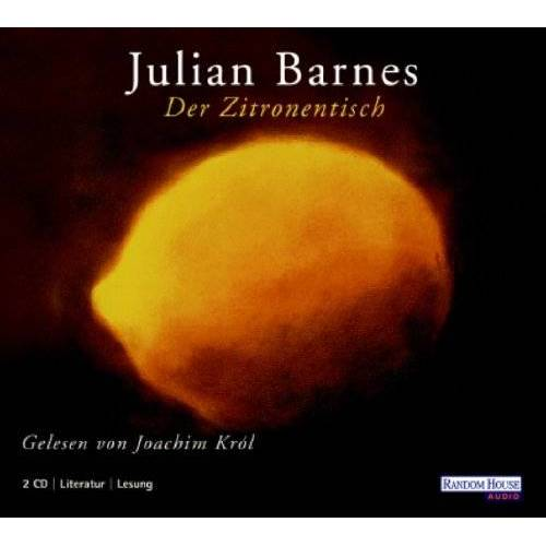 Julian Barnes - Der Zitronentisch. 2 CDs - Preis vom 16.04.2021 04:54:32 h