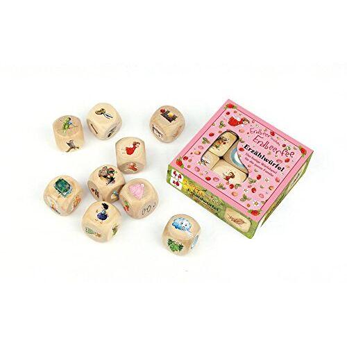 - Erzählwürfel-Spiel Erdbeerinchen: Erdbeerinchen Erdbeerfee. 9 Holzwürfel mit Spielanleitung: - Preis vom 04.09.2020 04:54:27 h