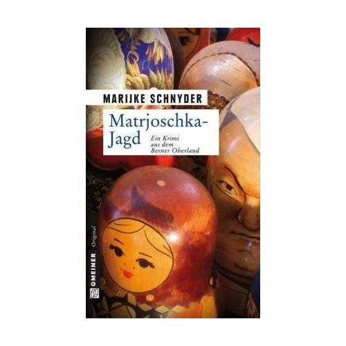 Marijke Schnyder - Matrjoschka-Jagd: Kriminalroman - Preis vom 17.04.2021 04:51:59 h