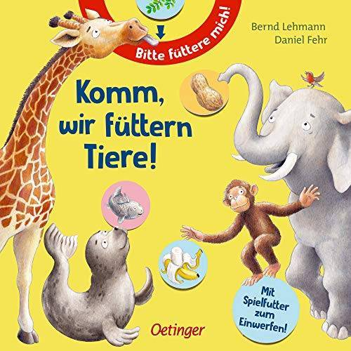 Daniel Fehr - Komm, wir füttern Tiere! - Preis vom 20.10.2020 04:55:35 h