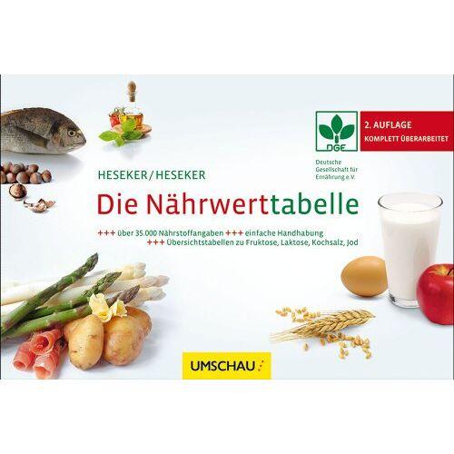 Helmut Prof. Dr. Heseker - Die Nährwerttabelle - Preis vom 06.05.2021 04:54:26 h