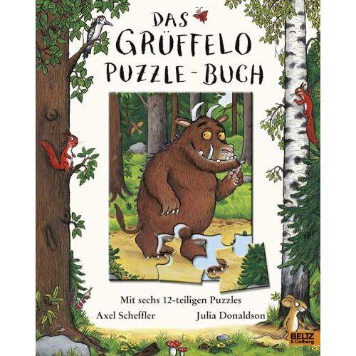 Axel Scheffler - Das Grüffelo-Puzzle-Buch: Mit sechs 12-teiligen Puzzles - Preis vom 07.05.2021 04:52:30 h