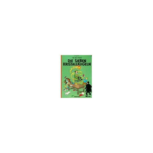 Hergé - Tim und Struppi, Carlsen Comics, Bd.3, Die sieben Kristallkugeln (Tintin en Allemand) - Preis vom 18.04.2021 04:52:10 h
