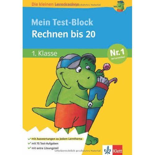 - Die kleinen Lerndrachen, Mein Test-Block Rechnen bis 20. 1. Klasse - Preis vom 05.09.2020 04:49:05 h